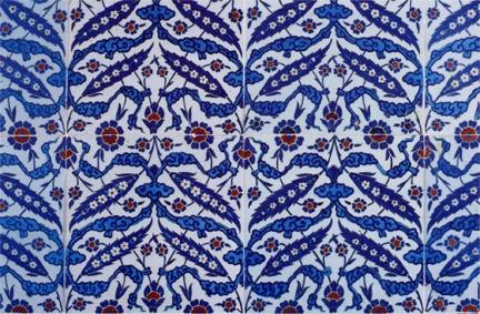Ottoman-era tiles, Yeni Camii, Istanbul