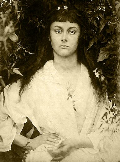 Julia Margaret Cameron, Alice Liddell as Alethea