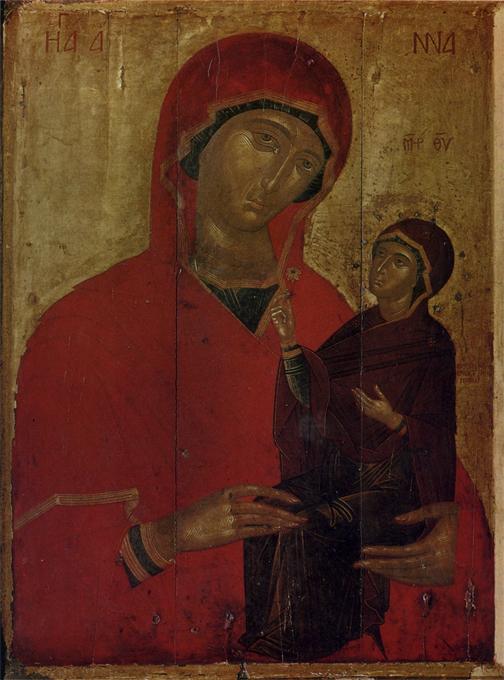13th century  tempera on wood