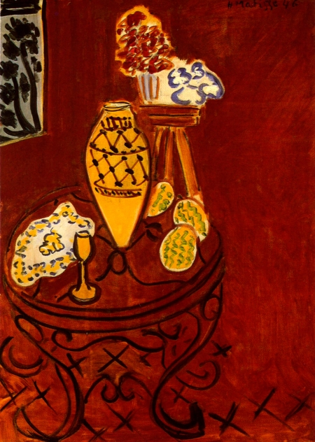 matisse-interior-in-venetian-red-1946
