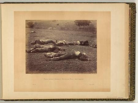 Timothy O'Sullivan—Field where General Reynolds Fell, Gettysburg