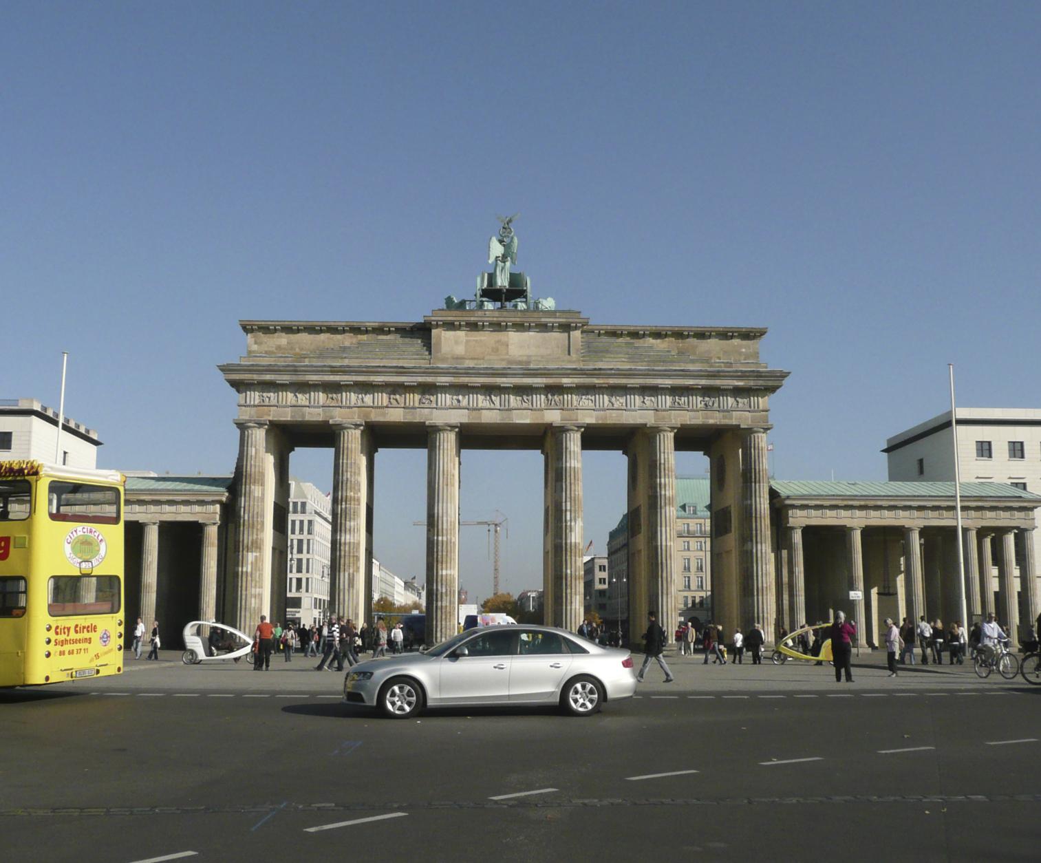 Brandenburg Gate Map Brandenburg Gate Recently