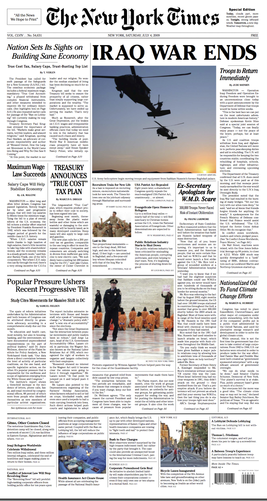 New York Times Newspaper Pdf