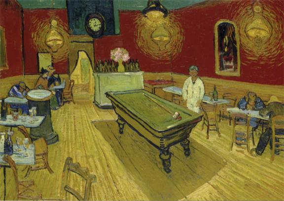 Café de nuit place Lamartine-Van Gogh 1888