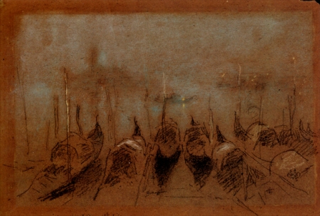 james-mcneill-whistlere28094nocturne-san-giorgio-1880-chalk-and-pastel-on-brown-paper-7-15-16-by-11-3-4
