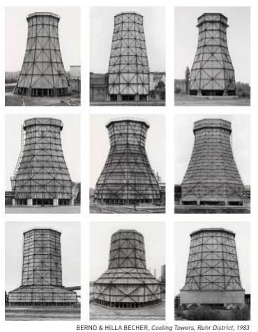 Bernd and Hilla Becher—Cooling Towers, 1983