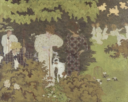 Bonnard—Croquet Game