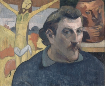 Gauguin—Portrait of the Artist with the Yellow Christ