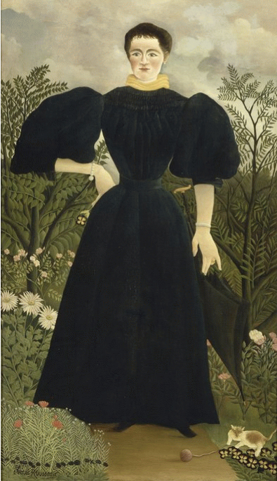 Henri Rousseau—Portrait of Madame M 1895-97
