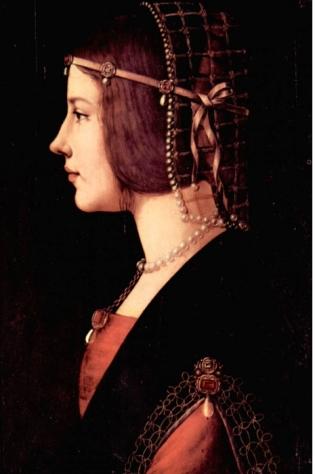 Da Vinci—Bearice d'Este