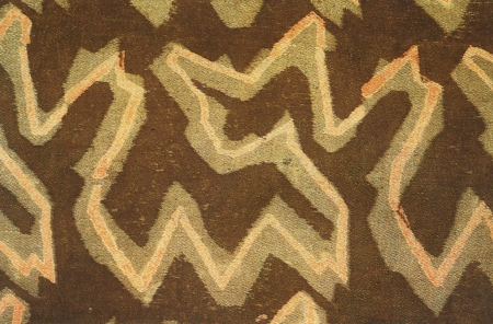 Phyllis Barron—Log pattern , 1915