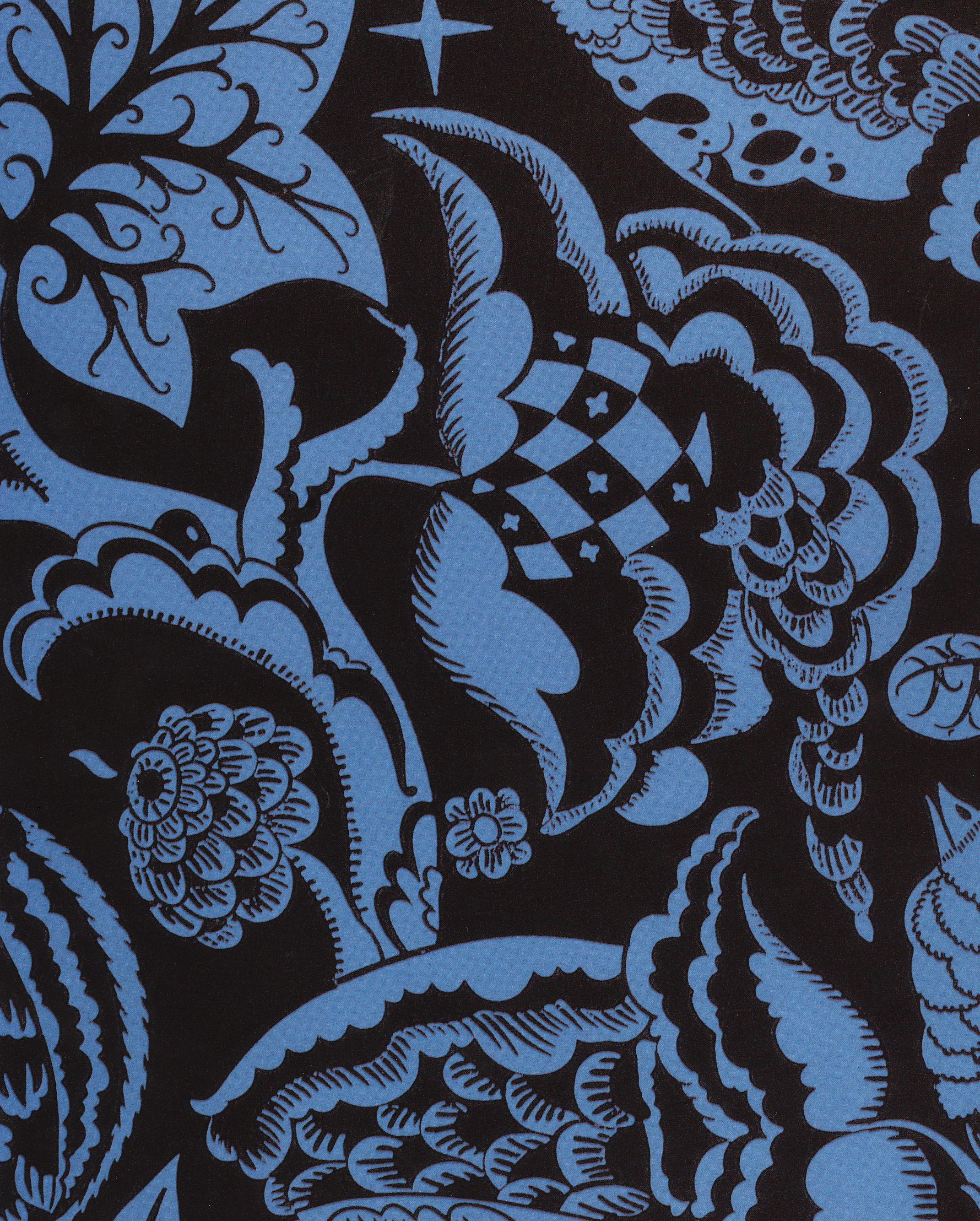 ... Peche, Genius of Ornament » Dagobert Peche—Wallpaper design