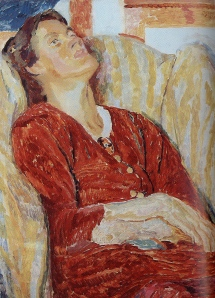Grant, Portrait of Vanessa Bell in an Armchair