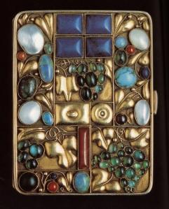 Josef Hoffmann—cigarette case