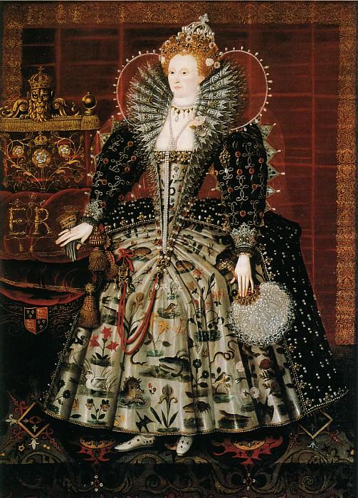 queen elizabeth i portrait. Sun » Hardwick Portrait