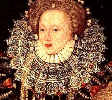 queen elizabeth 1 portrait. Queen Elizabeth I (detail)