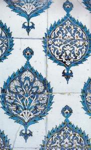 Iznik-style tile