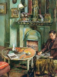 Vanessa Bell, Interior with Duncan Grant