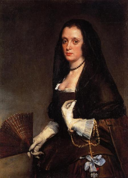 Diego Velázquez—Lady with a Fan, 1635