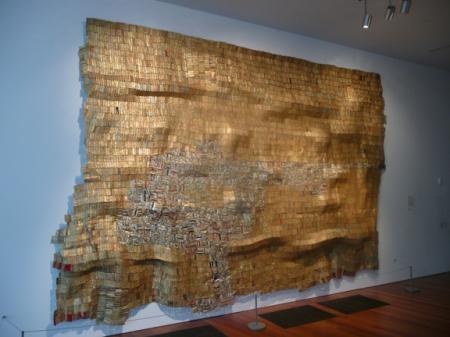 El Anatsui—Hovor II, 2004