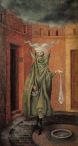 Remedios Varo—Woman Leaving the Psychoanalyst
