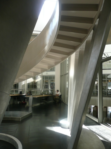Alice Aycock—Functional & Fantasy Stair (1), SFPL