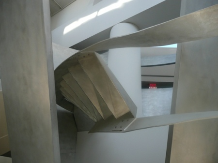 Alice Aycock—Functional & Fantasy Stair (2), SFPL