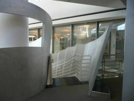 Alice Aycock—Functional & Fantasy Stair (3), SFPL
