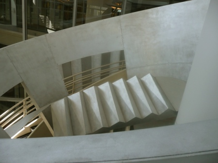 Alice Aycock—Functional & Fantasy Stair (5), SFPL
