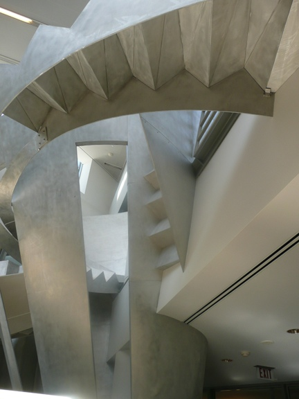 Alice Aycock—Functional & Fantasy Stair, 1996 SFPL