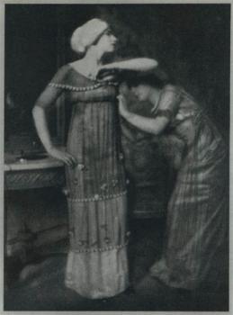 Edward Steichen—Poiret fashions, 1911