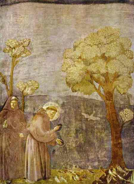 Giotto—Preaching to the Birds 1295