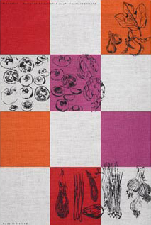 Lucienne Day—Day, tea towel, 1950s