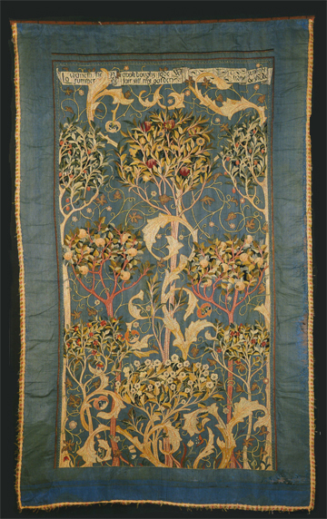 May Morris, Embroidered Coverlet