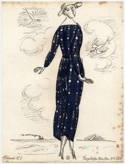 Raoul Dufy—croquis 1920