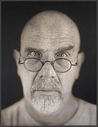 Chuck Close, Self Portrait,  2006