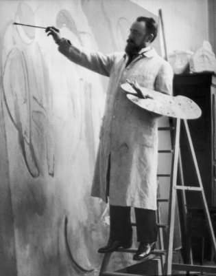 Henri Matisse at work Photograph © Alvin Langdon Coburn, courtesy Getty Images