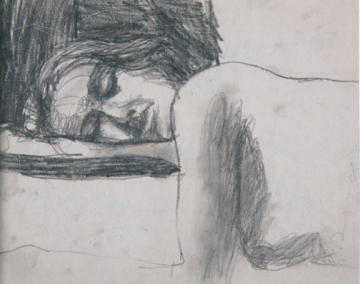Richard Diebenkorn, Untitled, 1962 Graphite on paper © The Richard Diebenkorn Foundation