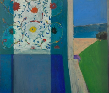 "Richard Diebenkorn, ""Recollections of a Visit to Leningrad,"" 1965 Oil on canvas © 2013 The Richard Diebenkorn Foundation"